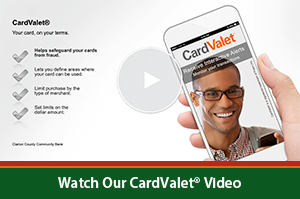 Card Valet Video Image