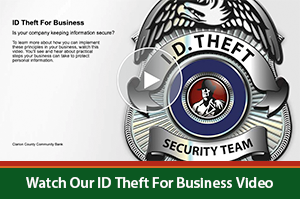 Identity Theft for Business Video Image