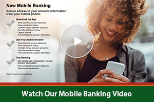 New Mobile Banking Video Image