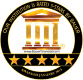Bauer Financial 5-Star Award Image