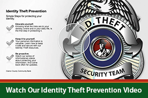 Identity Theft Prevention Video Image